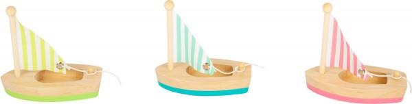 Segelboote, 3er-Set