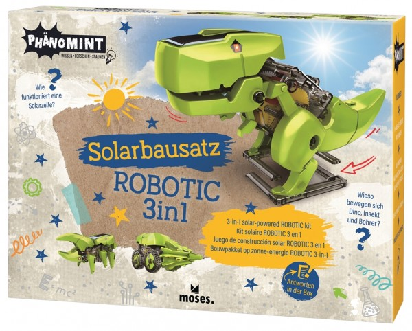 Solarbausatz Robotic 3in1