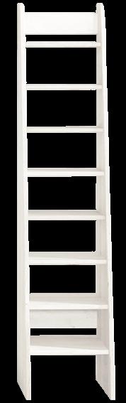 Treppenleiter 160 cm, weiß