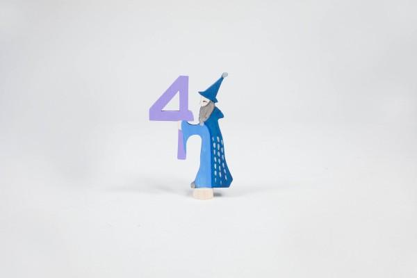 Märchenzahl 4 - Zauberer