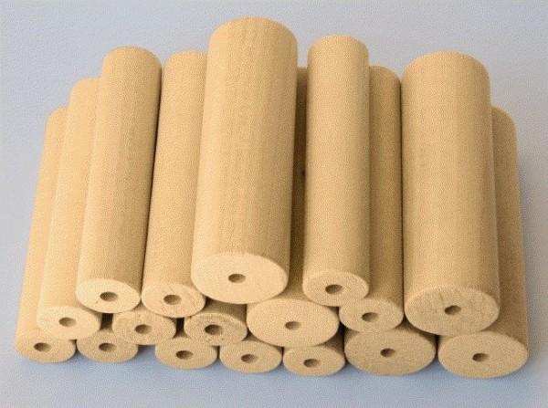 SET gemischte Holzrohlinge