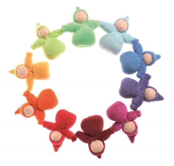 Taschenzwerge Regenbogen, 10er-SET