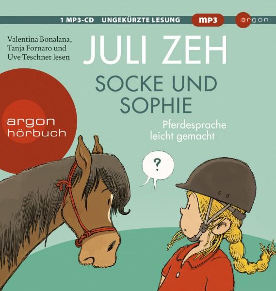 """CD Socke und Sophie """"Pferdesprache leicht gemacht"""""""