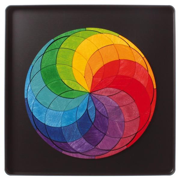 Magnetspiel Farbspirale