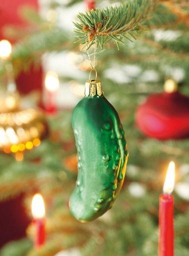 Weihnachtsgurke